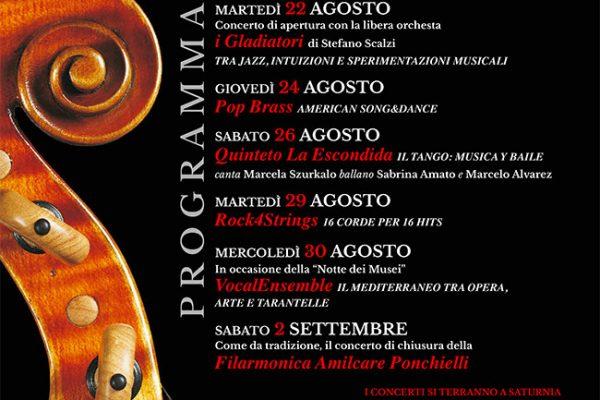 Saturnia Festival - Notte dei Musei