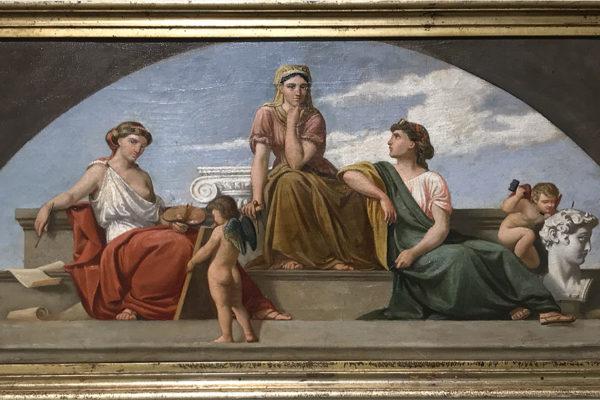 Allegoria delle Tre Arti - Pietro Aldi
