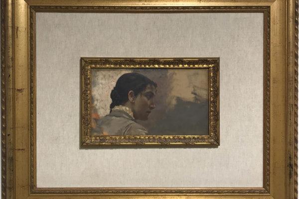 Ritratto di Fanciulla - Pietro Aldi