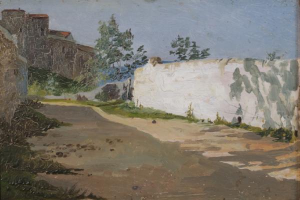 Pietro Aldi, Muro Bianco