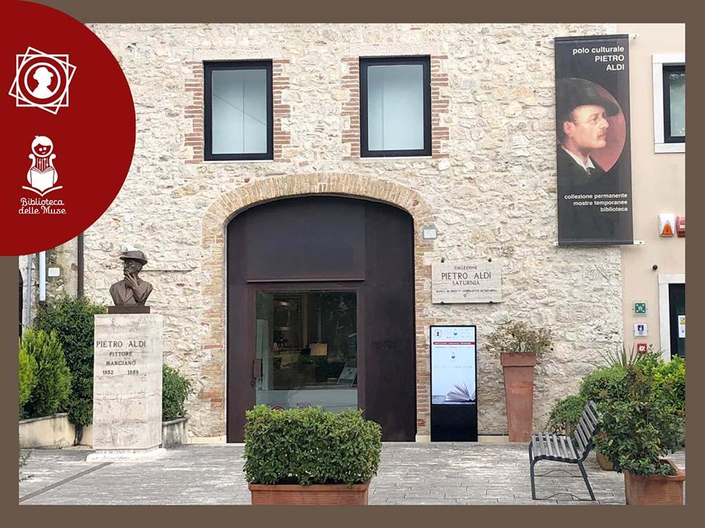 Foto ingresso Polo Culturale Pietro Aldi